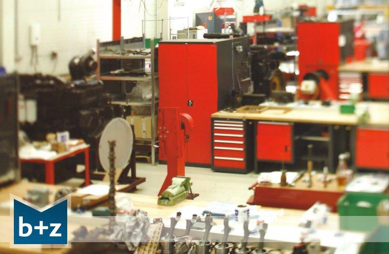 Einrichtung Werkstatt Industrie-Betrieb